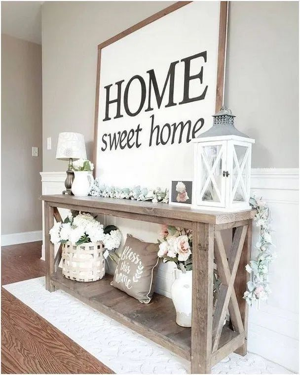 home decor entryway #homedecor Glam Living Room Ideas