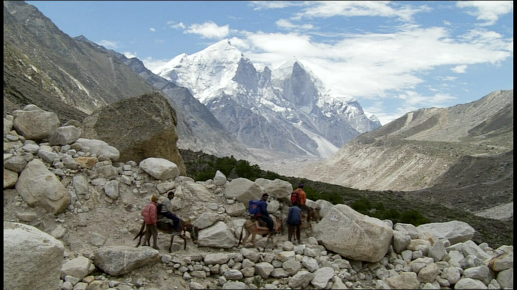 Image capture from the BBC documentary 'Ganges'. A reference pic for the Subira mountains of Ruan.