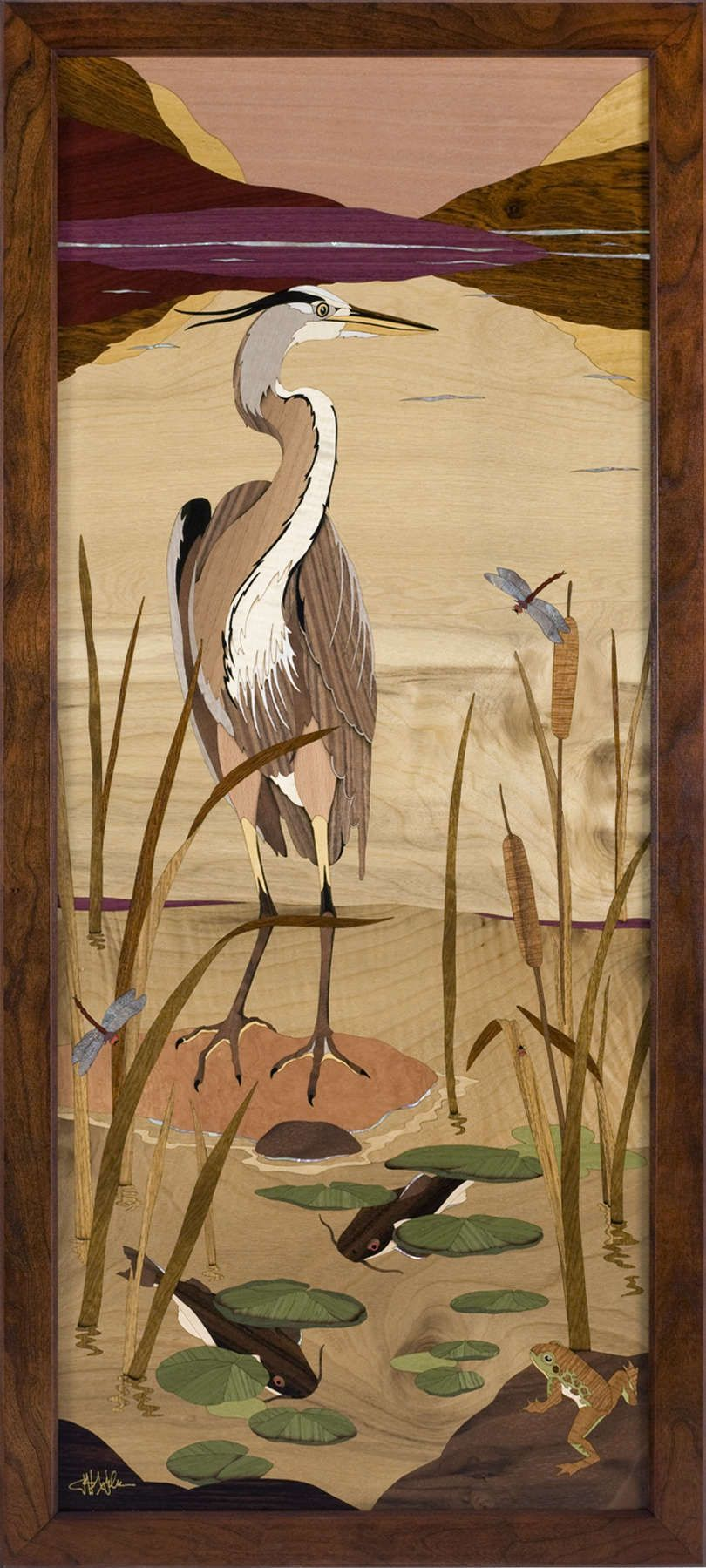 Hudson River Inlay - Finely Crafted Marquetry Furniture