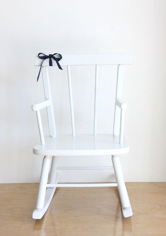 Reserved For Lisa Vintage Wooden Rocking Chair Baby