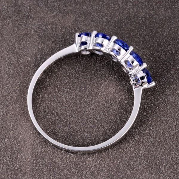 Sapphire Diamond Engagement Ring Uk Ireland 8