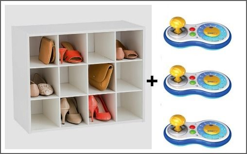 Elegant 9 Smart Ways To Organize Video Game Controllers