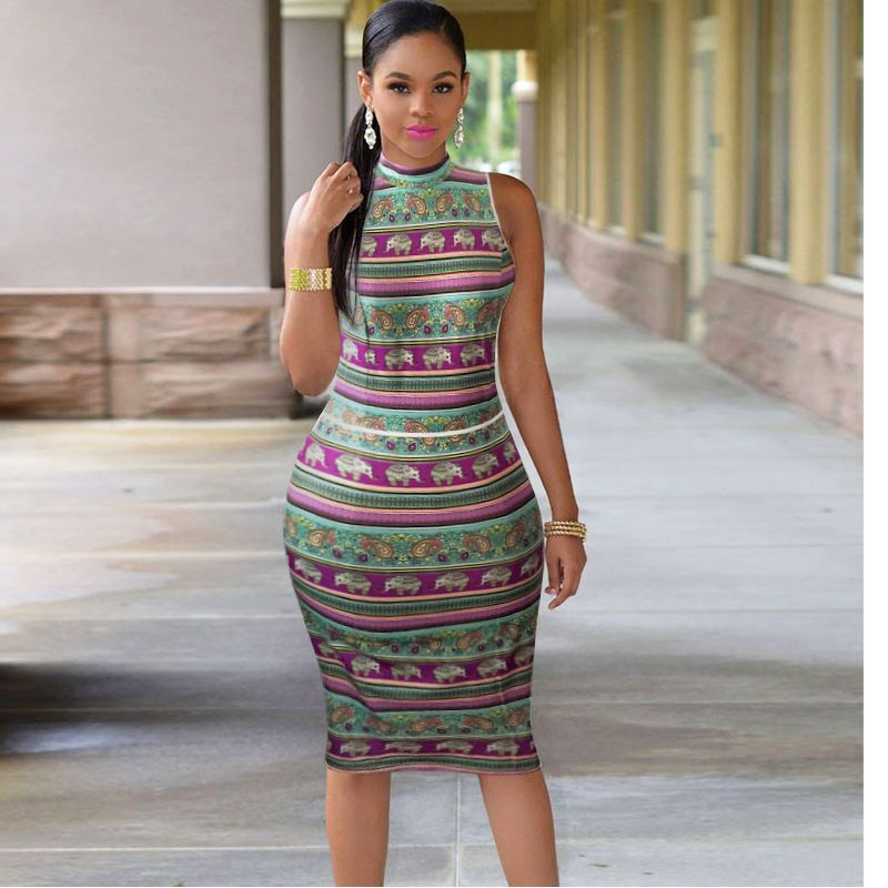 Best Recommended2016 Woman Summer Bodycon Dress Robe Sexy Club Part