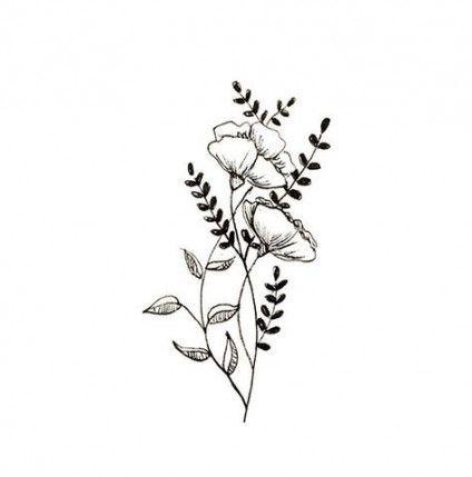 Flowers Png Botanical 15 Ideas For 2019 Flower Tattoos Tattoos Flower Tattoo