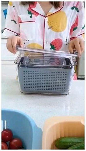 storage containers with lids for food