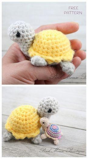 Crochet Little Turtle Amigurumi Free Patterns - DIY Magazine