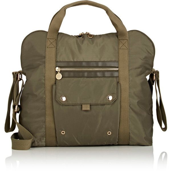 Stella McCartney Diaper Bag ($432) ❤ liked on Polyvore featuring green
