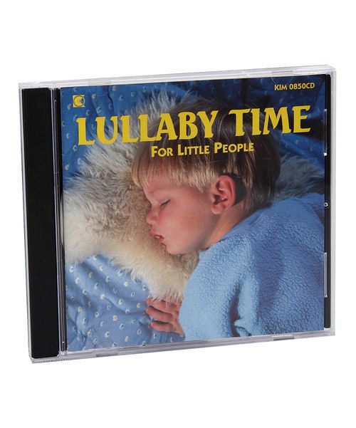 Look at this Kimbo Lullaby Time for Little People CD on #zulily today!