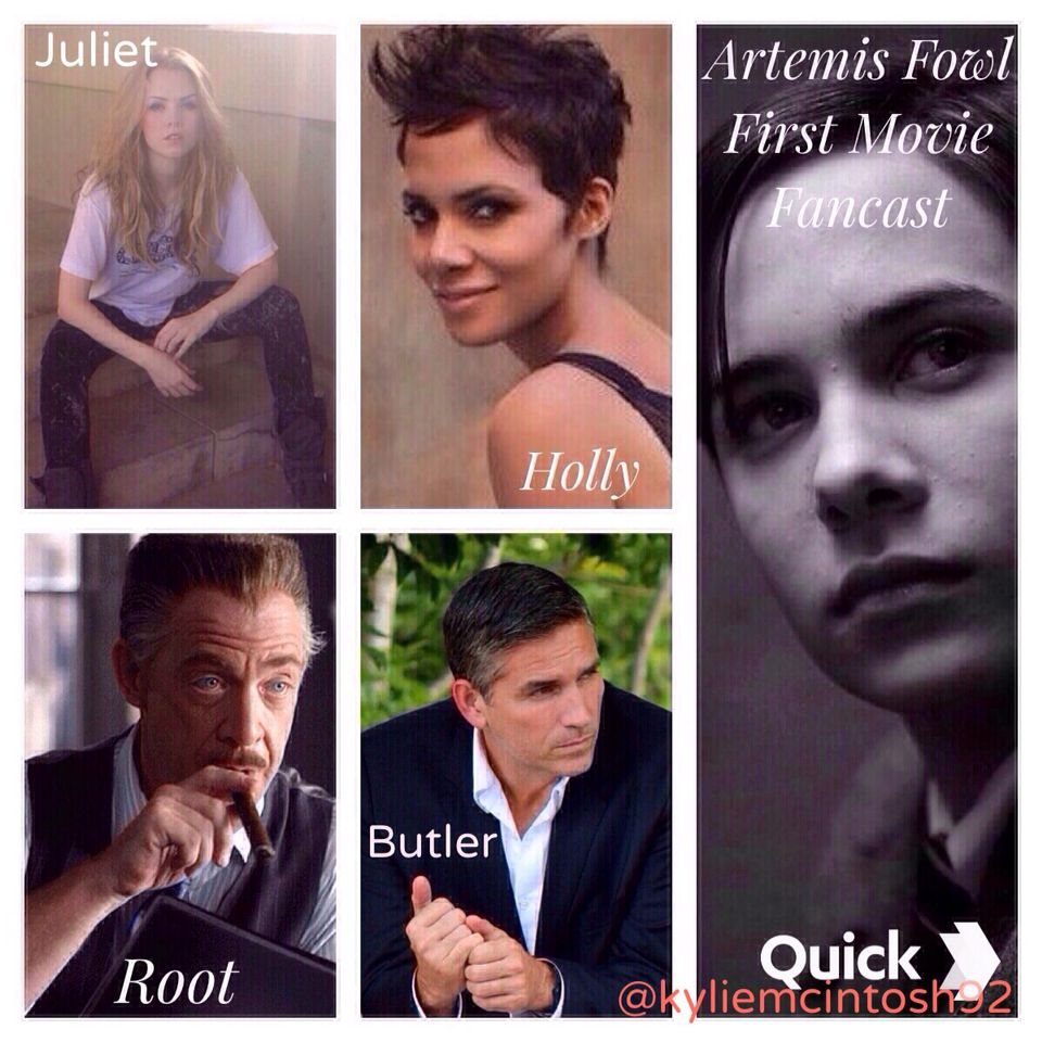 Artemis Fowl Book 1 And 2 Movie 1 Fancast Fan Edit Halle Berry As Holly