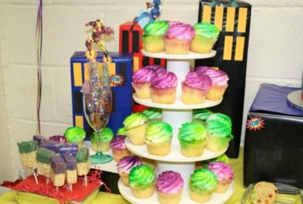 Pleasing Cupcakes From Bjs Wholesale Club They Can Spray Them Any Color Birthday Cards Printable Opercafe Filternl