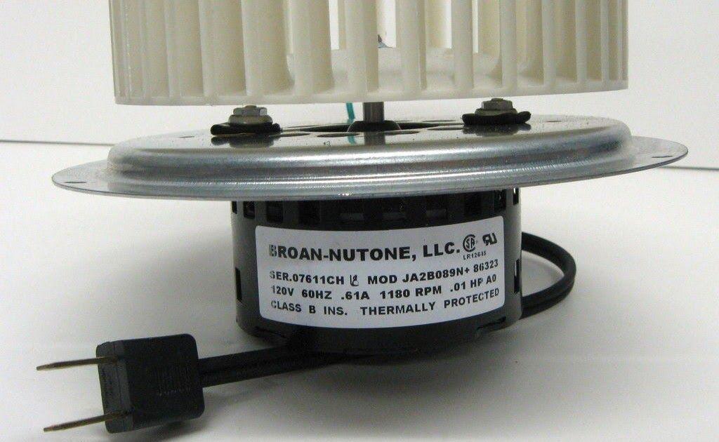 19++ Bathroom vent motor info