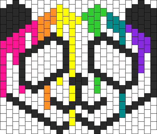 Ravepanda Kandi Mask Kandi Pinterest Kandi Kandi Mask And Extraordinary Kandi Mask Patterns