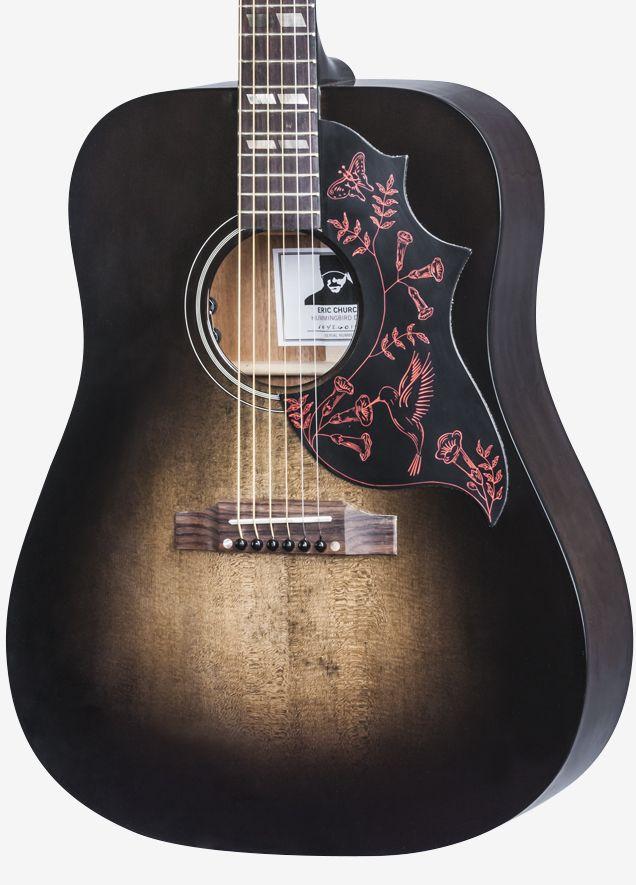 Gibson Com Eric Church Hummingbird Dark Gibson Acoustic Eric Church Custom Acoustic Guitars