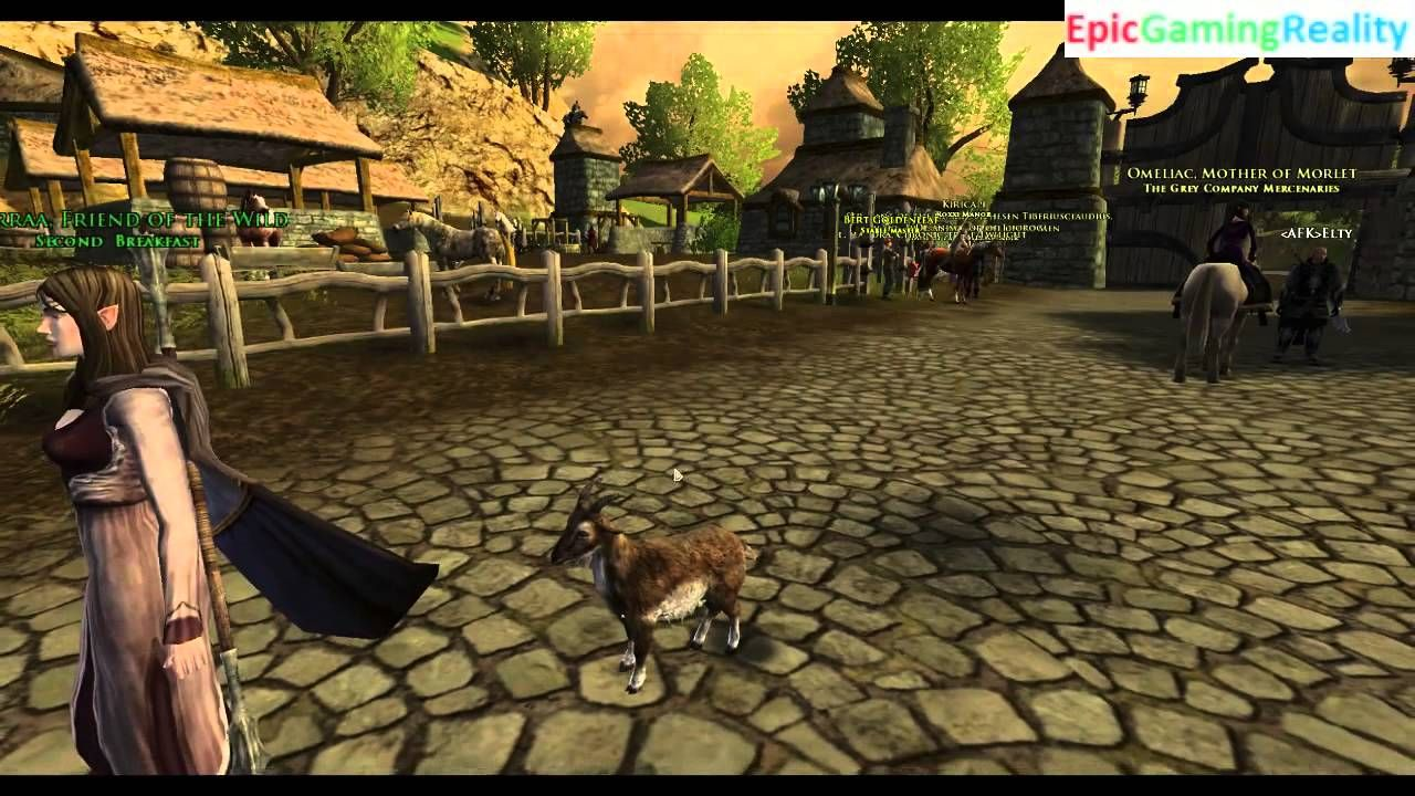 The Light Brown Goat Cosmetic Pet Revealed In Lord Of The Rings Online Helm's Deep Update 17 This video reveals The Light Brown Goat Cosmetic Pet In The Lord Of The Rings Online Helm's Deep Update 17 / LOTRO Helm's Deep Update 17.