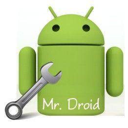 Mr Droid, simbolo de The Cellshop - Lima Peru