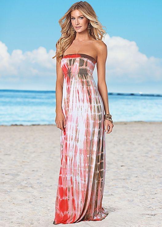 7d3b0d5678 Strapless tie dye dress in the VENUS Line of Dresses for Women ...