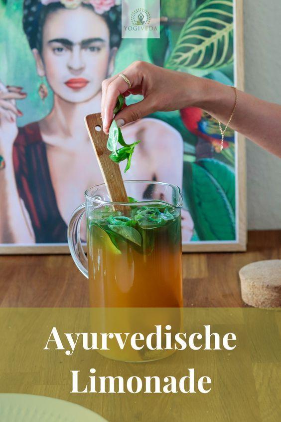 Ayurvedische Limonade - eine Erfrischung im Sommer - Yogiveda