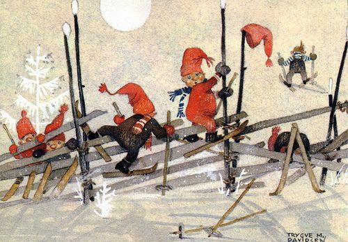 Trygve M. Davidsen - skiing