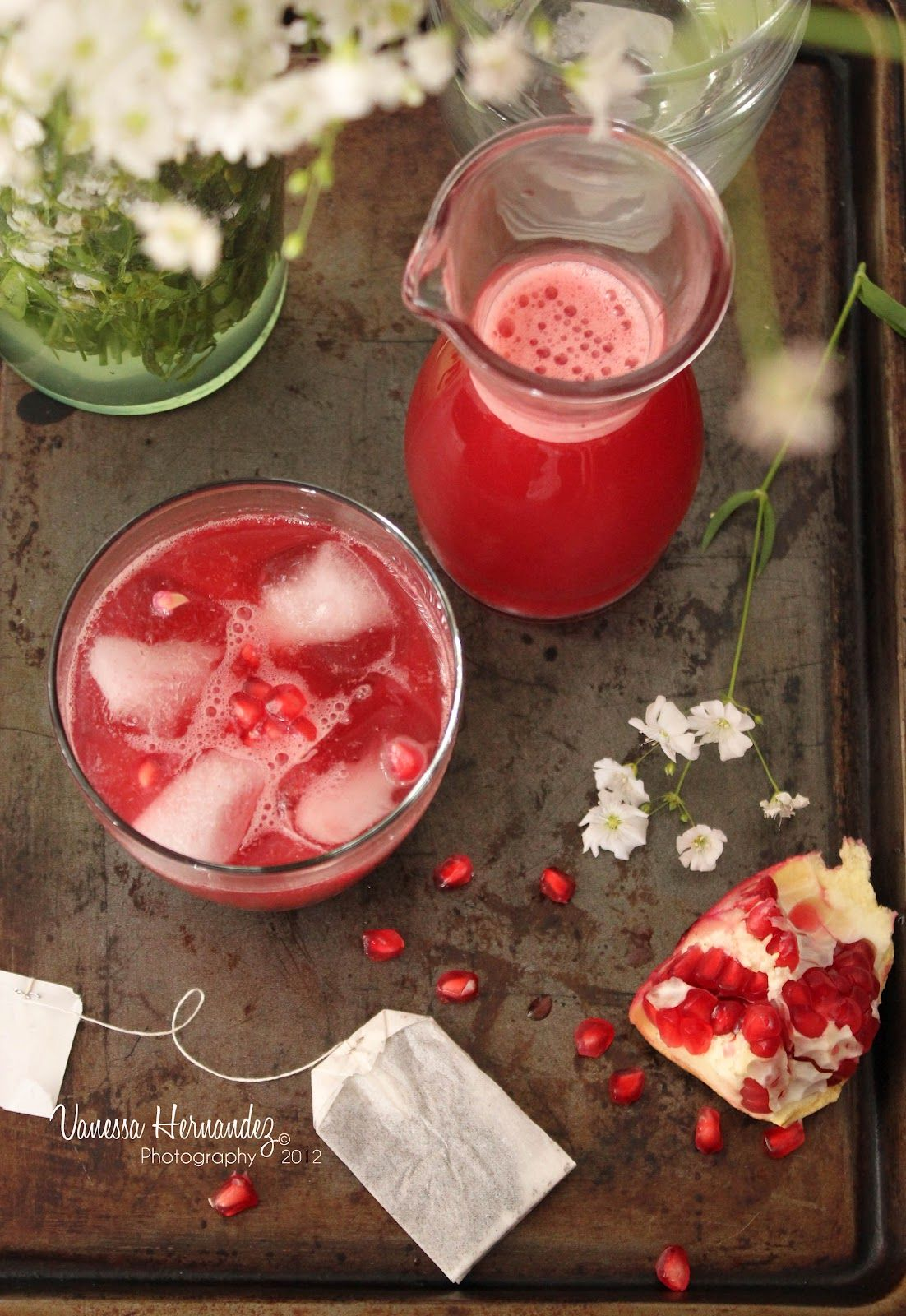 Vanessa Hernandez Cooking And Photography Pomegranate And Hibiscus Tea Tea Infusion Recipes Hot Chocolate Coffee Hibiscus Tea
