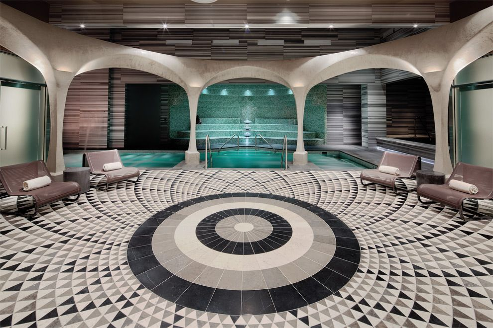 Pin By Atelier Turner On Spa And Fitness Ocean Resort Modern Spa Luxury Hotel