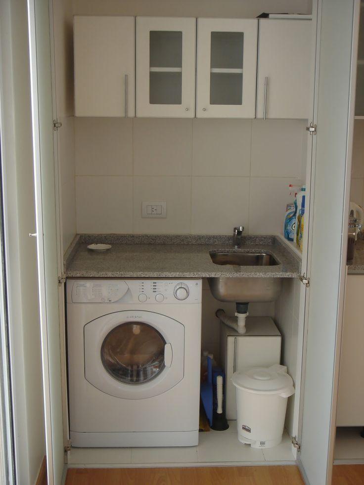 Resultado de imagen para lavaderos peque os exterior for Cocina y lavadero integrados