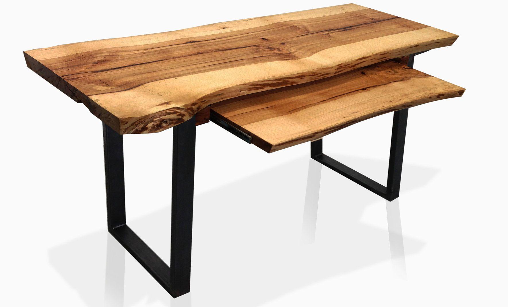 Amazing Reclaimed Wood Live Edge Wood Furniture Desk Custom Made Home Interior And Landscaping Mentranervesignezvosmurscom