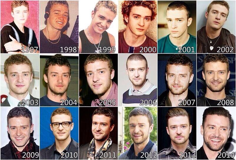 Justin Timberlake... I've loved him through all the years.