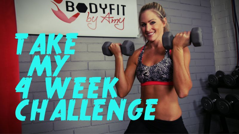 Bodyfit By Amy Month Workout Challenge Workout Plan Dance Workout Videos