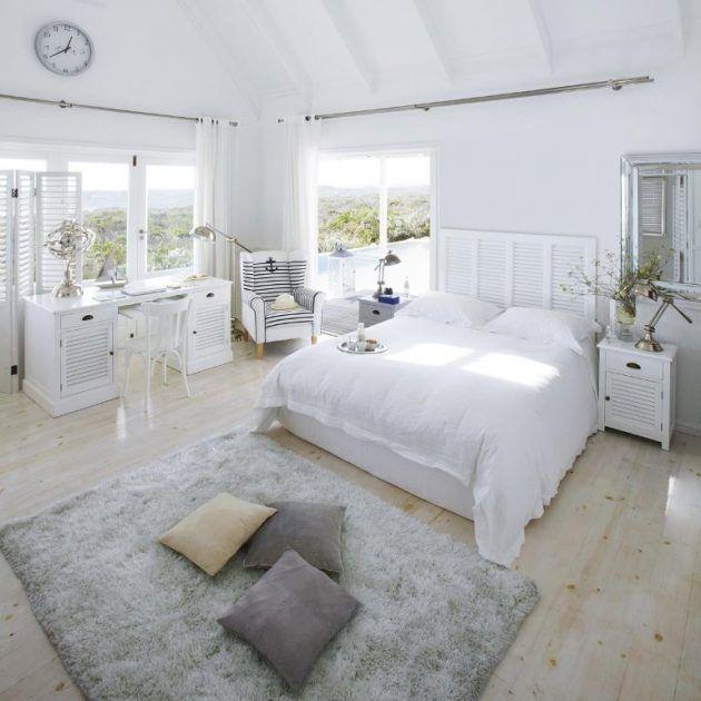 i like it ein schlafzimmer in wei und ein kopfteil welches fast jedes bett auffrischt. Black Bedroom Furniture Sets. Home Design Ideas