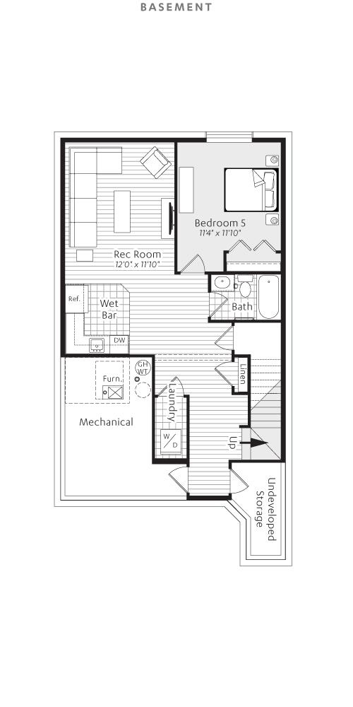 Basement Floorplan Open Concept Floor Plans Floor Plans House Plans
