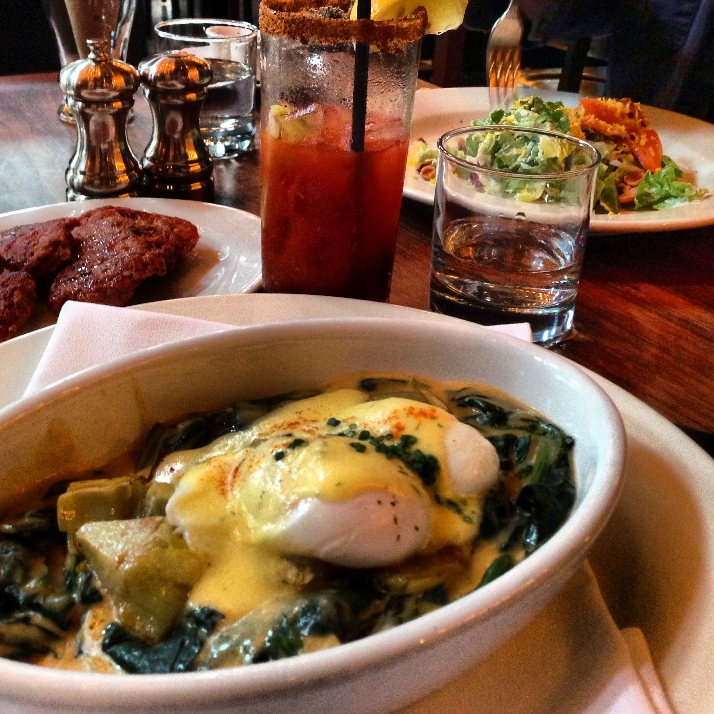 Eggs Sardou Irving Street Kitchen Portland Or Bomb Com