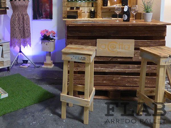Mobili Pallet ~ Mobili tavoli sedie in pallet flab arredo pallet arredamento