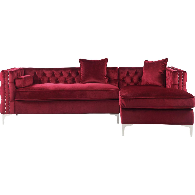 Pin On Buy Now #red #velvet #living #room #set