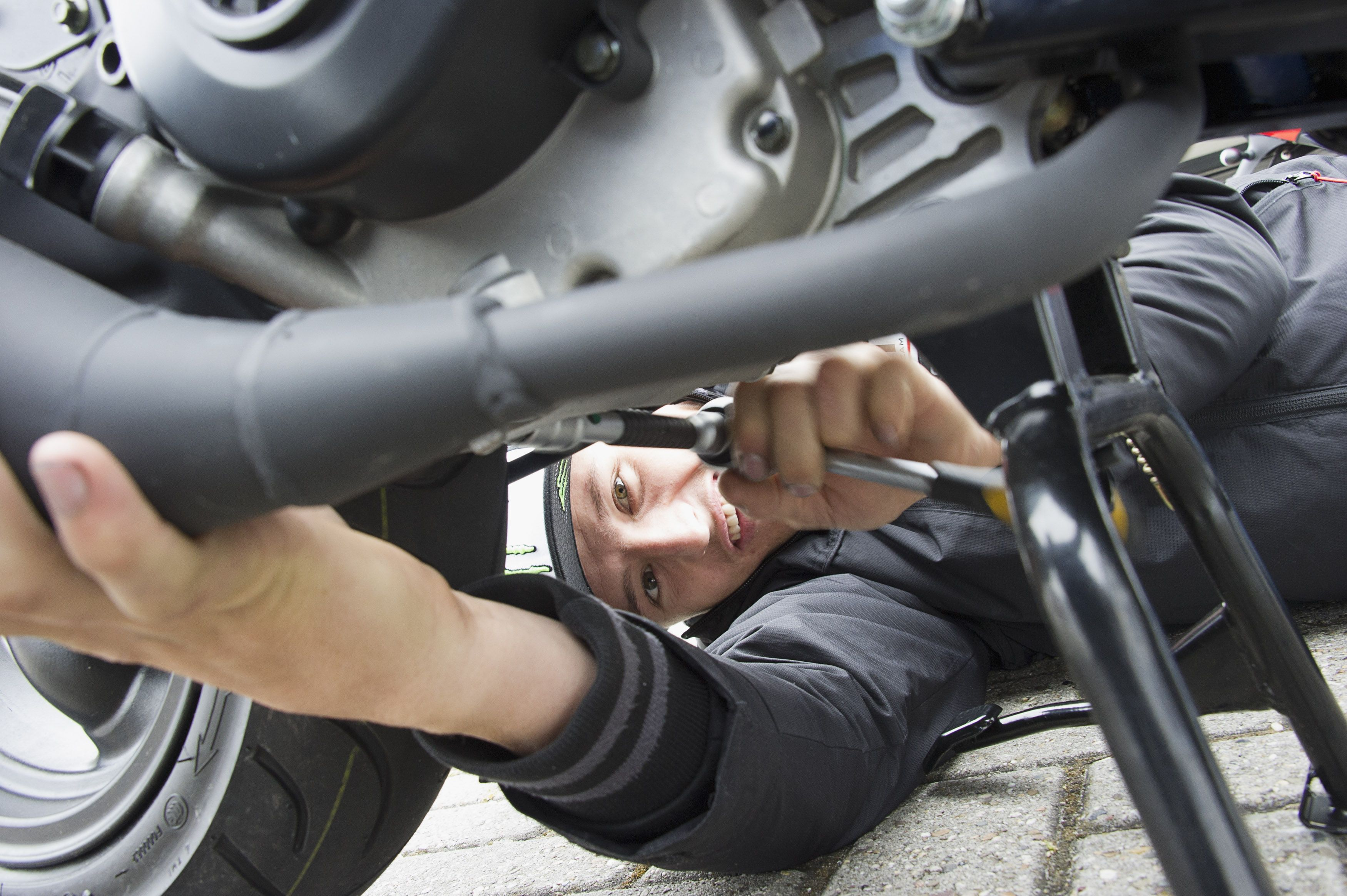 Get in touch with you nearest service center for bike ...