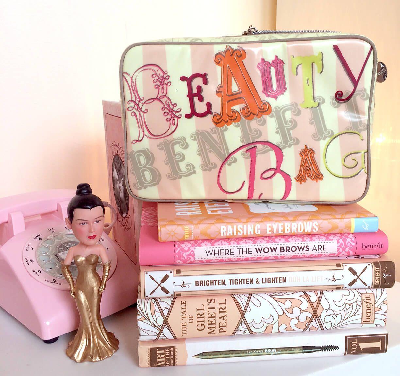 Benefit travel beauty bag