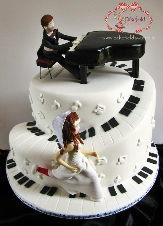 piano wedding cake cake decorating decoration gateau. Black Bedroom Furniture Sets. Home Design Ideas