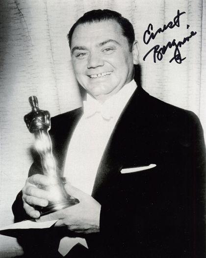 """Ernest Borgnine - Best Actor Oscar for """"Marty"""" (1955)"""
