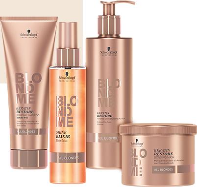Ismerd meg a BlondMe legújabb kollekcióját és megújult, Advanced Bonding technológiát (hajkötéserősítő technológia) tartalmazó termékeit.  Részletes leírás:  http://szinezdujra.com/blog/blondme-megujulas-a-szoke-forradalma