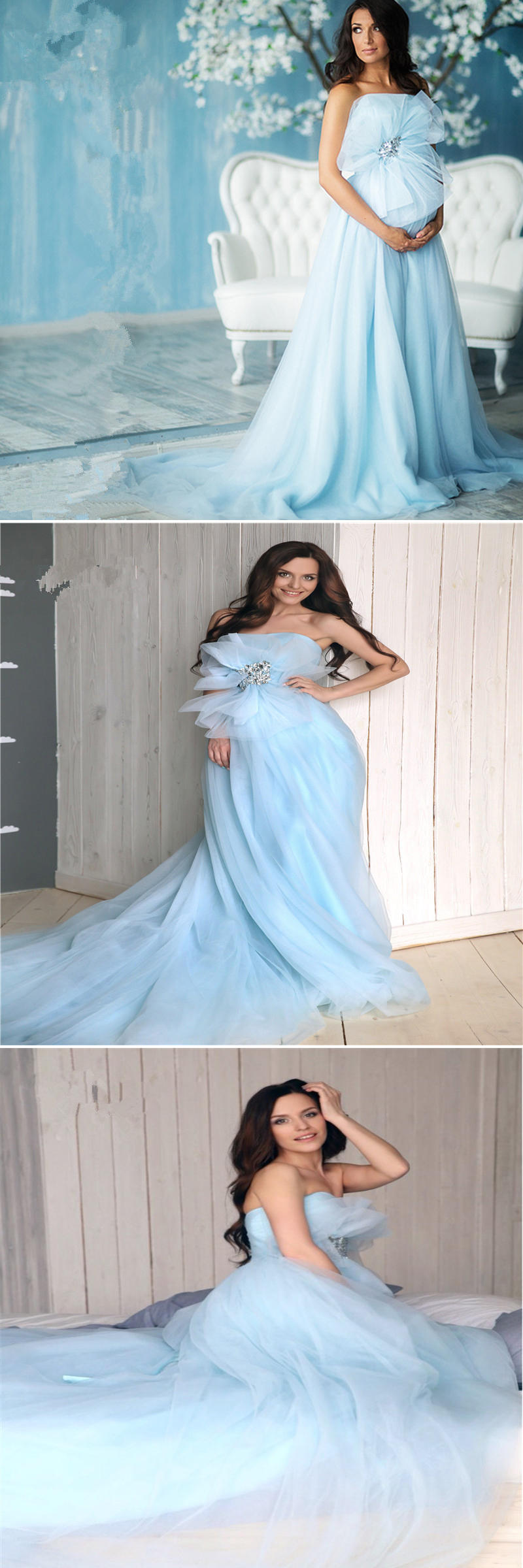 15+ Pregnant / Maternity Wedding Dress Ideas | Pregnancy wedding ...
