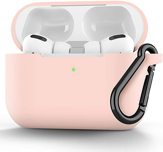 Amazon Com Easyworld Compatible Airpods Pro Case Cover Silicone Protective Cover For Airpod Pro Case 2019 Front Led Visible Pin Airpod Pro Case Airpods Pro