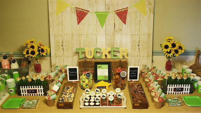 Rustic John Deere Baby Shower | Celebrating The Moments By Marcie