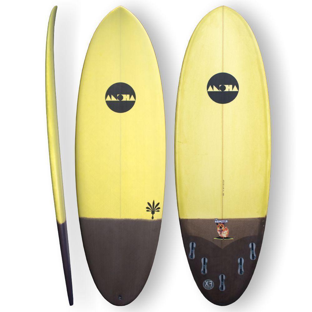 Surfboard ALOHA Hamster 6.0 XF Tint Epoxy Surfer FCS II in