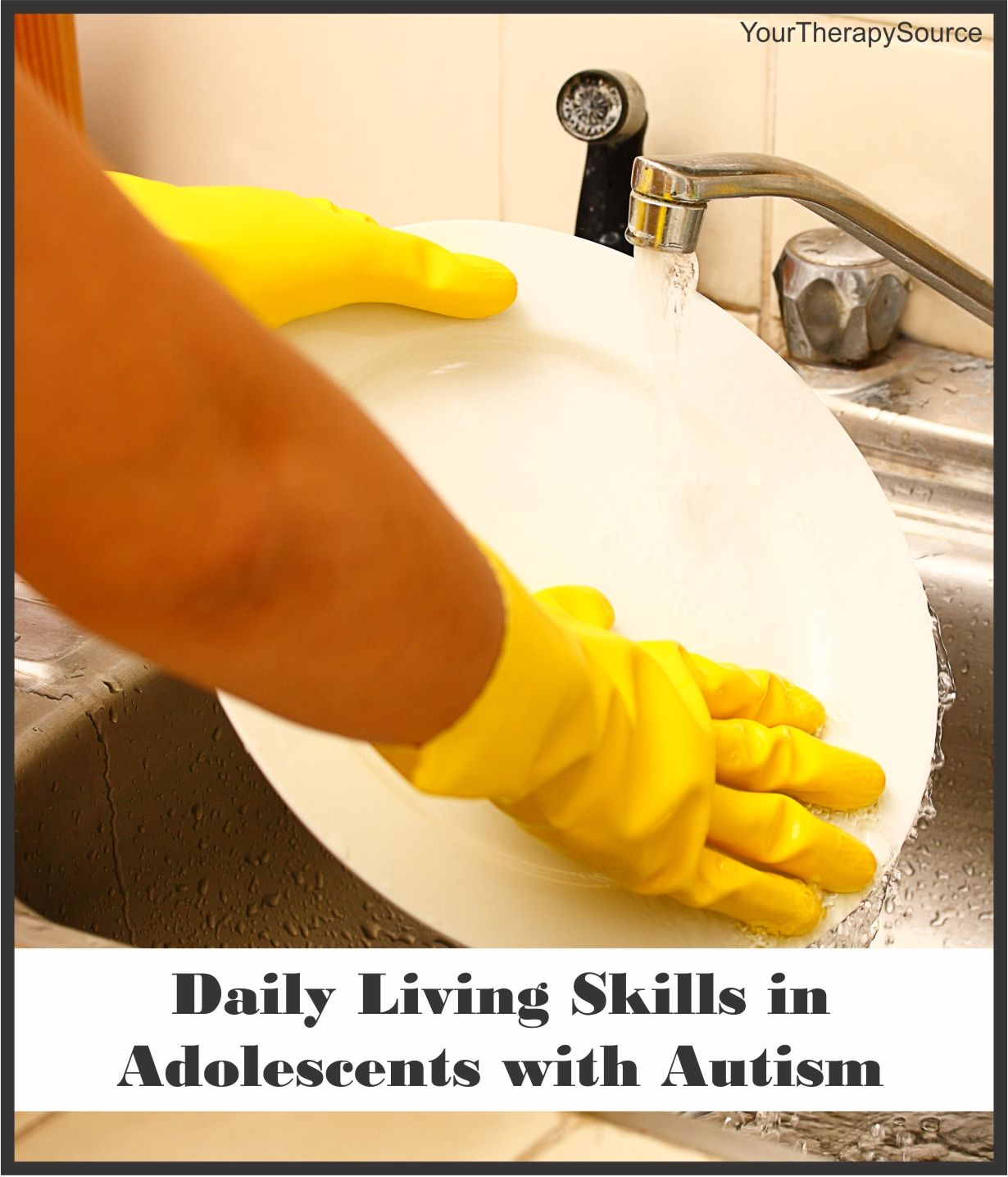 Daily Living Skills In Adolescents With Autism