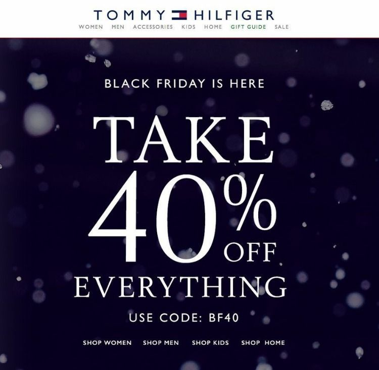 It is a photo of Sweet Tommy Hilfiger Outlet Coupon Printable