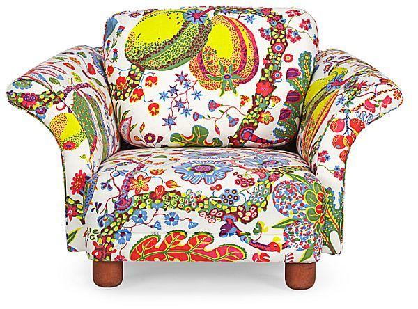 Lovely The Liljevalch Easy Chair, By Josef Frank For Svenskt Tenn. In The Textile  Brazil.