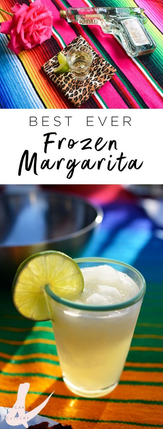 Best Ever Frozen Margarita #frozenmargaritarecipes