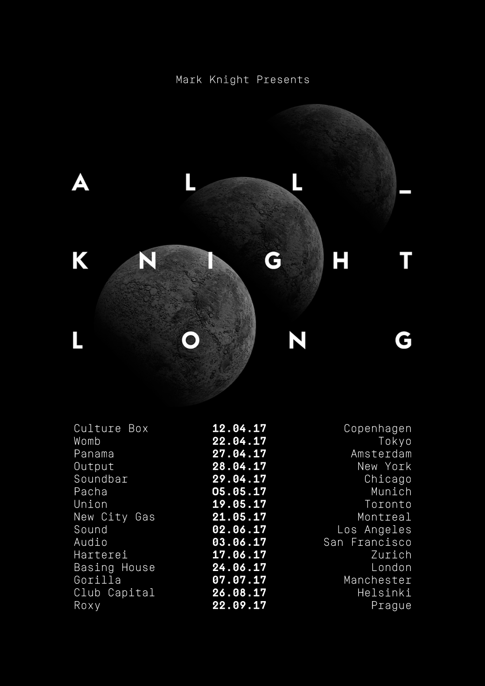 Mark Knight Announces All Knight Long Tour New City Gas Knight Tours