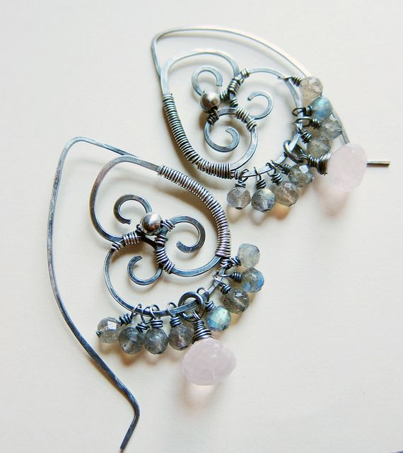 Amongst The Clouds Earrings | Flickr - Photo Sharing!