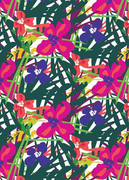 Lanai tropical print