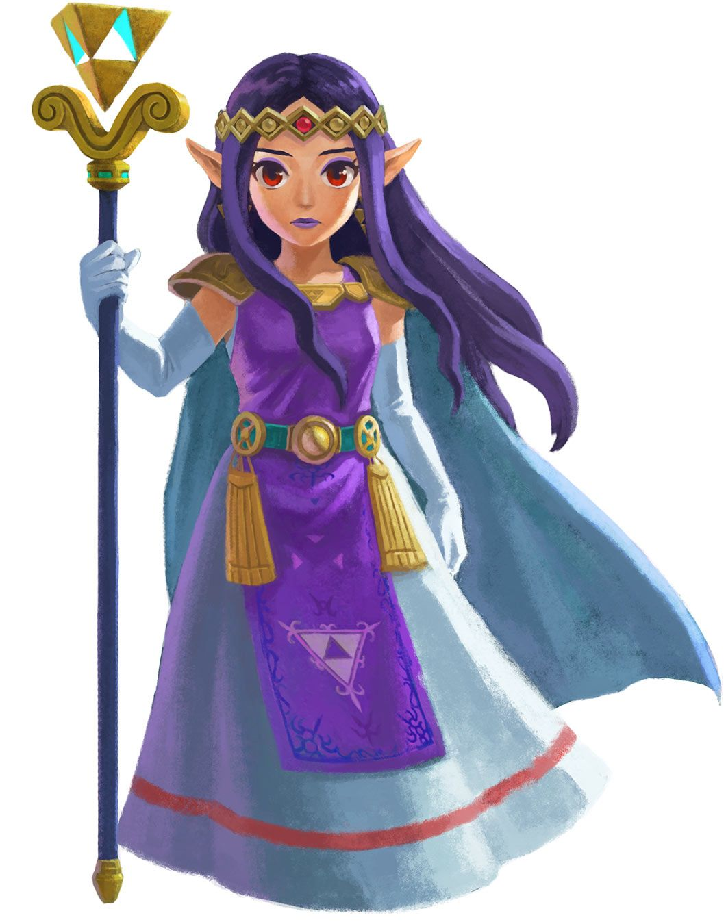 Princess Hilda Characters Art The Legend Of Zelda A Link